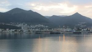 Ankunft Griechenland