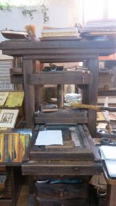 Ohrid Druckerpresse