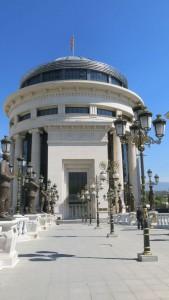 Skopje Brücke der Kunst