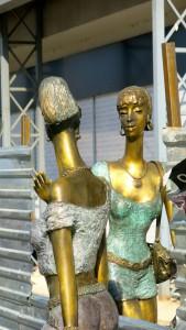 Skopje Statue Frauen