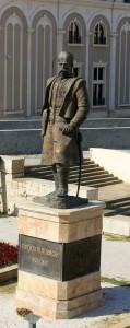Skopje Statue Grogija Pulevski