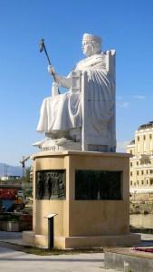 Skopje Statue Justinijan 1