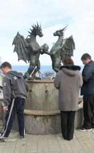 Varna Drachenbrunnen