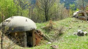 Albanien Bunker