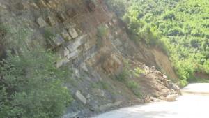 Steinrutsch Berat 2