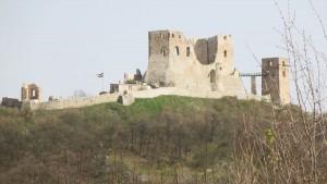 Burg am Weg Ungarn