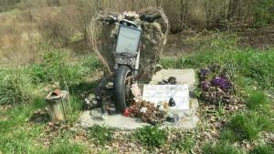 Denkmal Motorrad