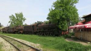 Eisenbahn bei Nis 5
