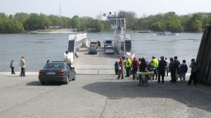 Faehre Donau
