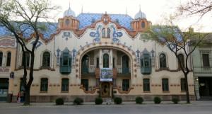 Jugendstil Palast Raichle Tag