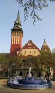Jugendstil Serbien Rathaus