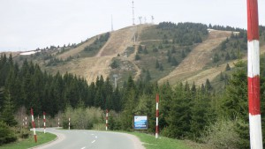 Schneegebiet Serbien 1