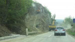 Straßenbau Serbien