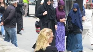 junge Frauen Muslima