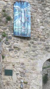 moderne Freske Bar 1