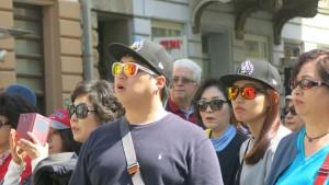 Japanische Touristen Sara 1