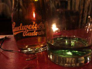 Prag Absinth und Bier