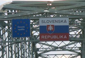 Grenze Slowakai Bruecke