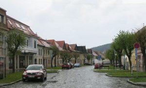Kezmarok Dorfstraße