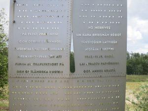 Text Skulptur